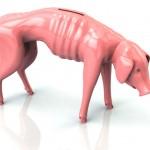 Caída insostenible del ahorro
