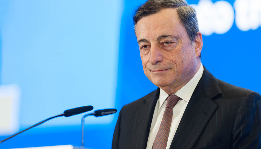 Mario Draghi, presidente del Banco Central Europeo (Foto: BCE). CC BY-NC-ND 2.0.